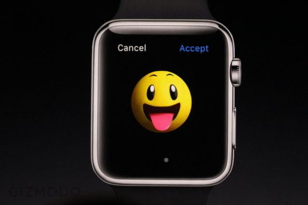 Apple Watchでいちばん気になるのはEmoji