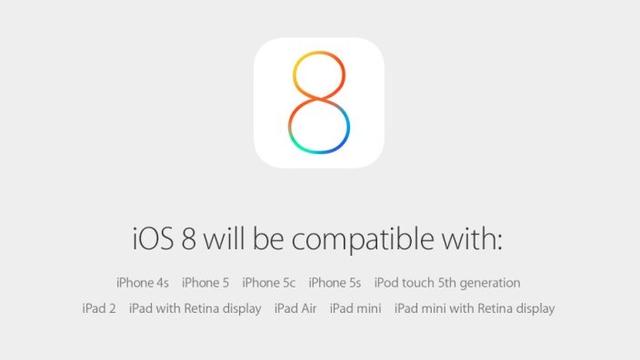 iOS 8はiPhone、iPad、iPod touchに。17日リリースだって