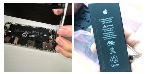 iPhone 6のバッテリー容量は1,810mAhかもしれません