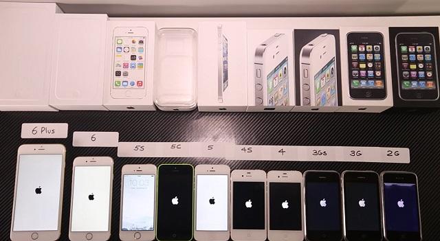 iPhone 6が歴代iPhoneからどれだけ速くなったか、ご確認ください