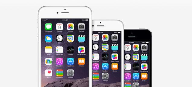 iPhone 6/iPhone 6 Plusのディスプレイ、モバイル液晶で最高の評価