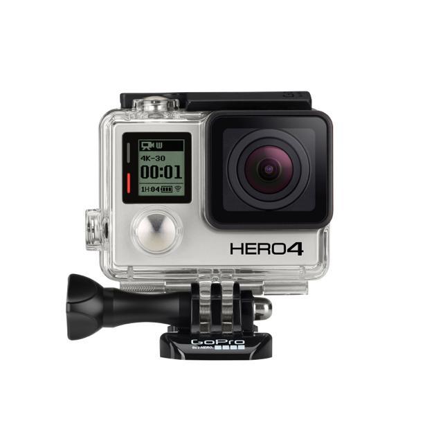 笑顔なコーフンを撮るカメラがアップデート。「GoPro HERO4」登場