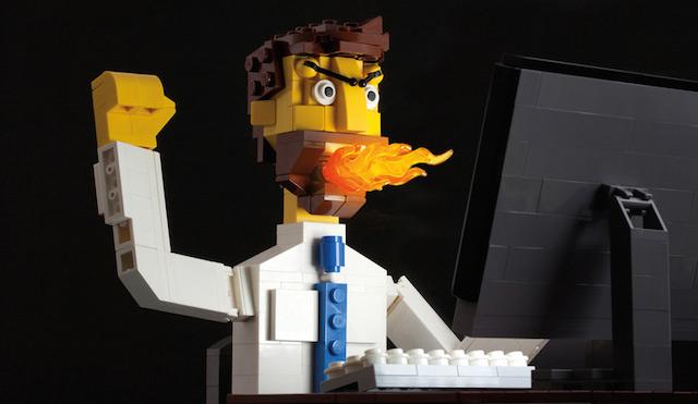 LEGO好きのLEGO好きによるLEGO好きのための写真集