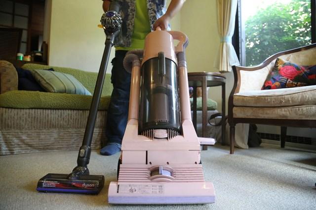 掃除機の革命を起こしたダイソン。その初号機「G-Force」が発掘されました