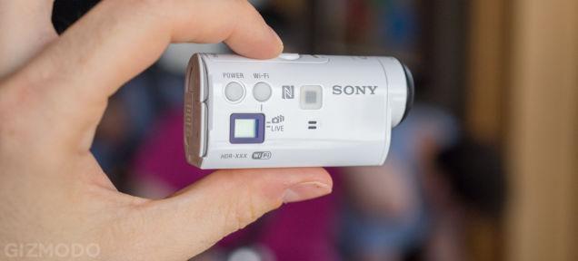 It's a Mini。ソニーのアクションカムがもっと小さくなります
