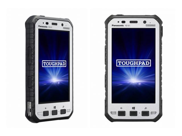 防水・防塵・耐衝撃。パナソニックから法人向け超頑丈5型タブレット「TOUGHPAD」発表
