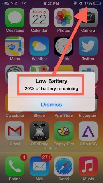 みんなはどう? 「iOS 7.0.6」の一部のiPhoneでバッテリードレインが発生してるみたい