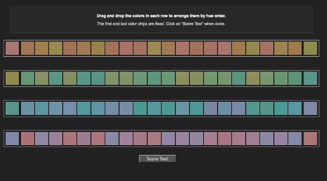 【過去記事】あなたは色がどれだけ見えていますか? グラデーションで色の正確さを計測できる「Online Color Challenge」