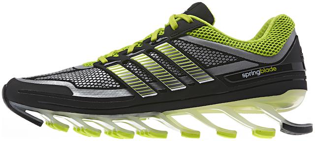 近未来的ランニングシューズ! ソールにサスが付いた「adidas springblade」日本上陸!(ギャラリー、追記あり)