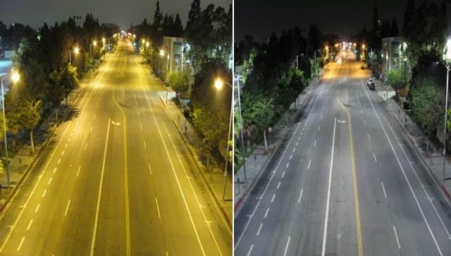 LED街灯がハリウッドを変える、そして街の在り方も…