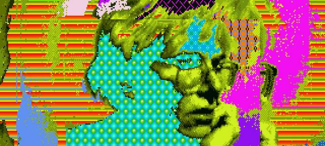 30年経って見つかった! アンディ・ウォーホルのAmigaコンピュータアート