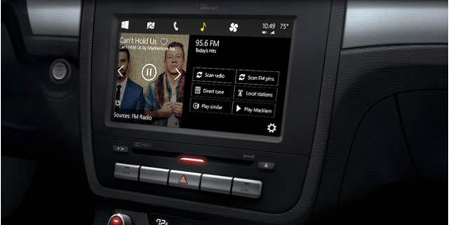 マイクロソフトの車用インターフェース「Windows in the Car」アップルのCarPlayに酷似