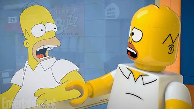シンプソンズ、5月4日の放送をレゴ100%で制作!