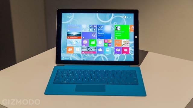 Surface Pro 3ハンズオン! よりタブレットでよりラップトップな端末に