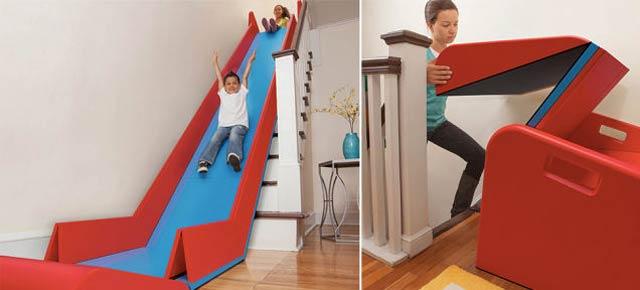 自宅の階段が一瞬にすべり台になるキッズアイテム