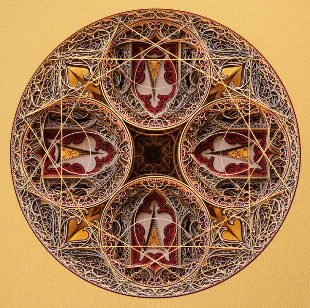 レーザーカッターで再現する、イスラミック調の3Dレリーフアート