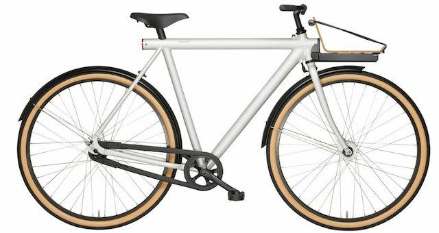 ギャラリーに置きたくなる都市型の自転車VANMOOF