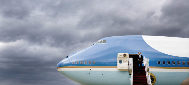 米大統領専用機の電話はアイアンマンっぽいヘンな電話