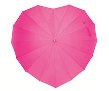 これはかわいいっ♪ 雨の日もガーリーなロンドン発「ハートの雨傘」