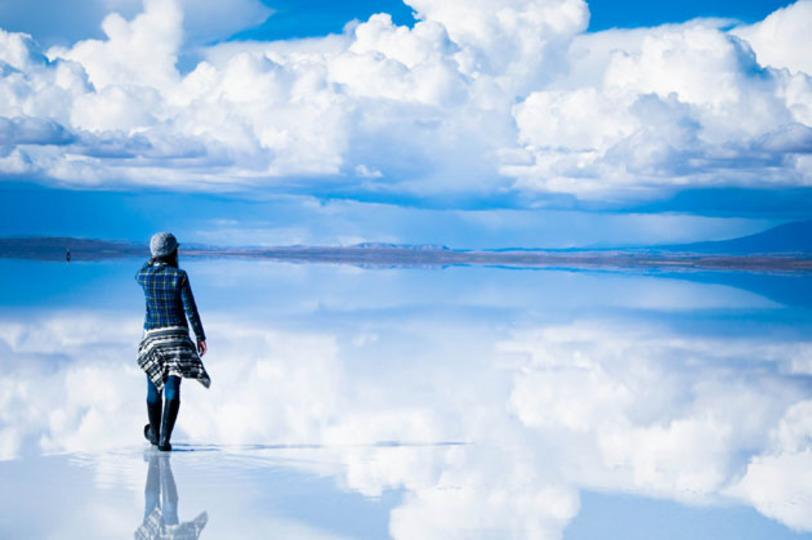 雲の上を歩いてる!? いまにも天...