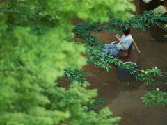東京の公園でぼーっとする。脳の疲労が回復 #だら活