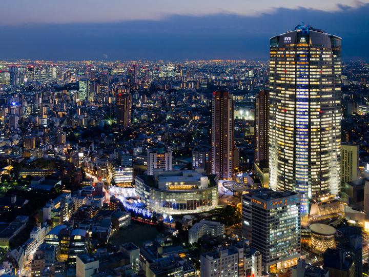 リアルとヴァーチャルどっちも。新しい東京の夜景を見た