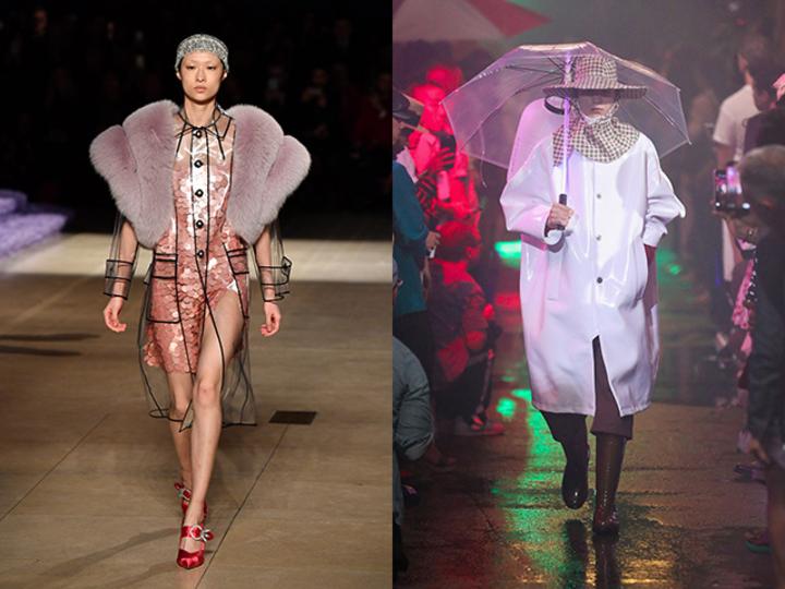 雨の日はレインコートでモード感を楽しむ。各ブランドから続々登場中