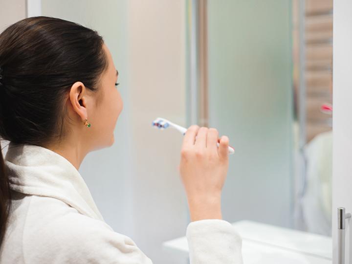 エクササイズは、歯磨きタイムだけでいい