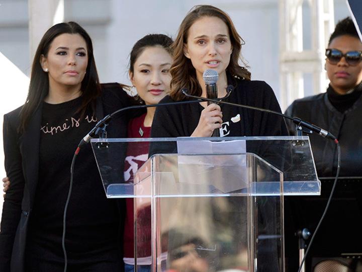今年もセレブたちが集結。辛い過去を吐露する姿に勇気もらえた #WomansMarch