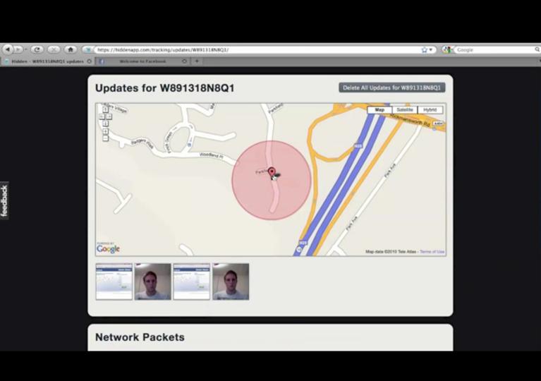 万一のMacの紛失・盗難に使える、捜索サポートアプリ『Hidden』