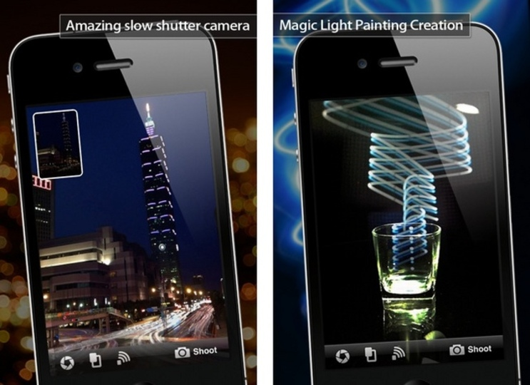 iPhone でスローシャッター撮影が可能な神アプリ「Magic Shutter」