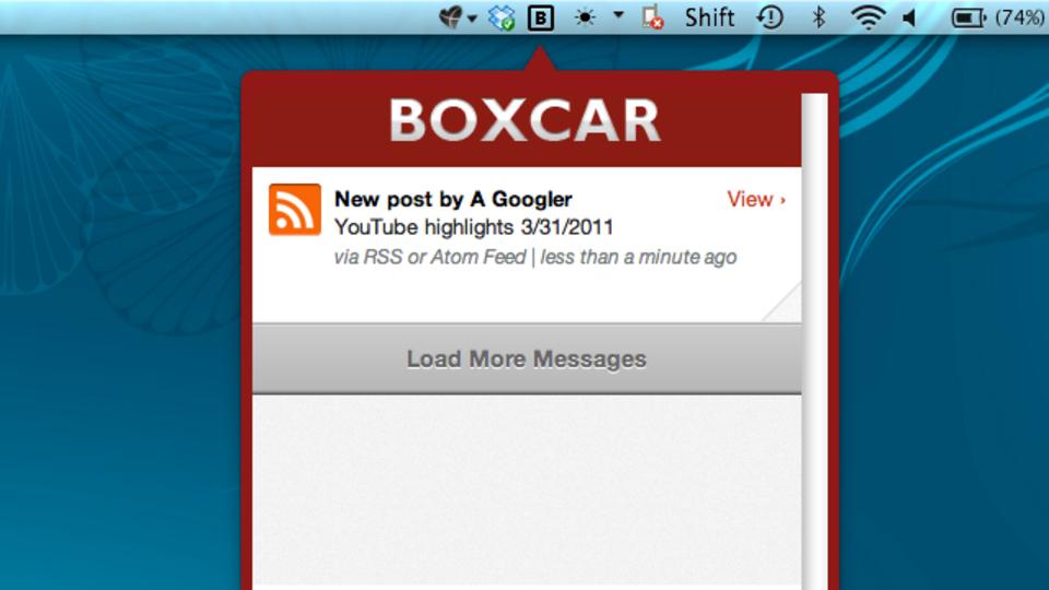 デスクトップパソコンでのリアルタイム通知なら『Boxcar for Mac』が熱い!