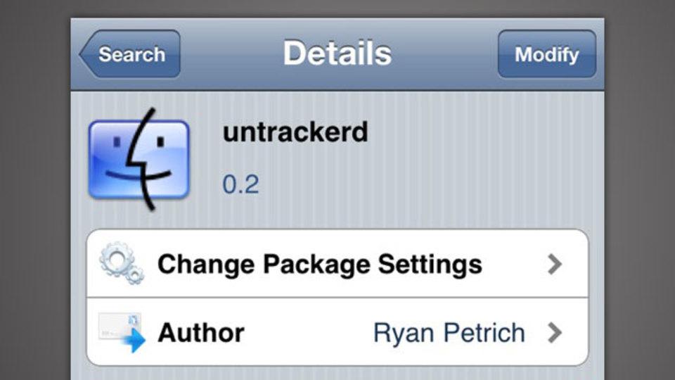 『Untrackerd』はiPhoneに残る位置情報などの履歴データを削除!