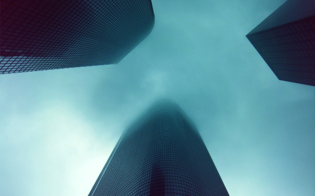 Skyscrapers Disappearing into the Clouds.jpg