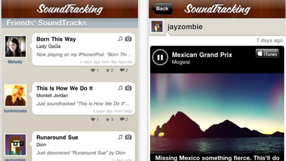 『Soundtracking』を使えば、聞いている曲のタグ付けや共有が簡単に!