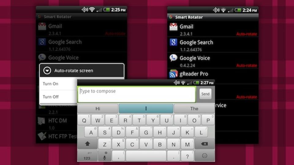 『Smart Rotator』はどのAndroidアプリでランドスケープモードを有効にするかを設定可能なフリーアプリ