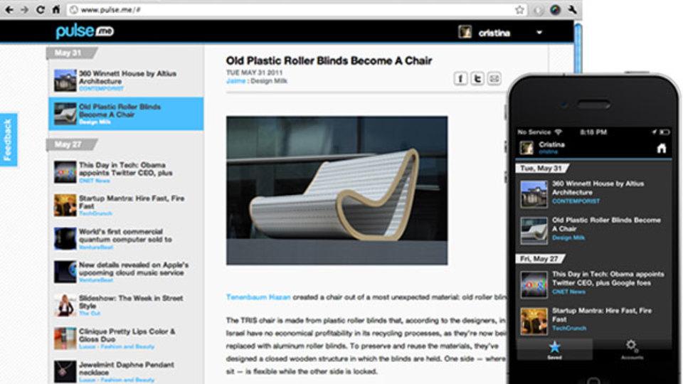 『Pulse』のニュースリーダーが更新! 後で読みたい記事をウェブアプリに保存できます