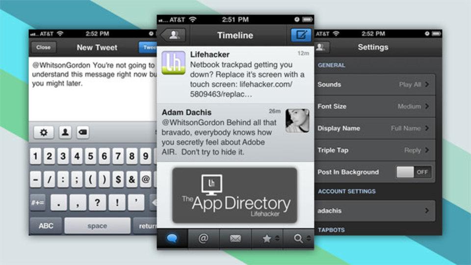 iPhone用の最強Twitterアプリは、ずばりコレ!