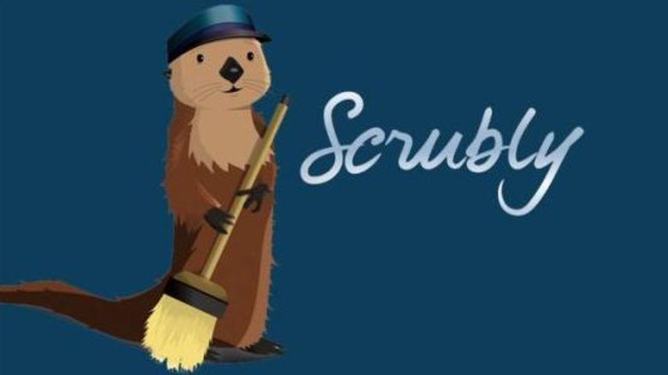 あちこちに散在するアドレス帳や連絡先を、まとめながらキレイに整理してくれる「Scrubly」