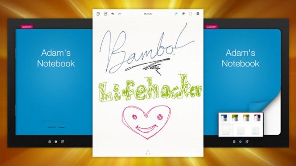iPadで最高の書き心地の手書きノートアプリ『Bamboo Paper』
