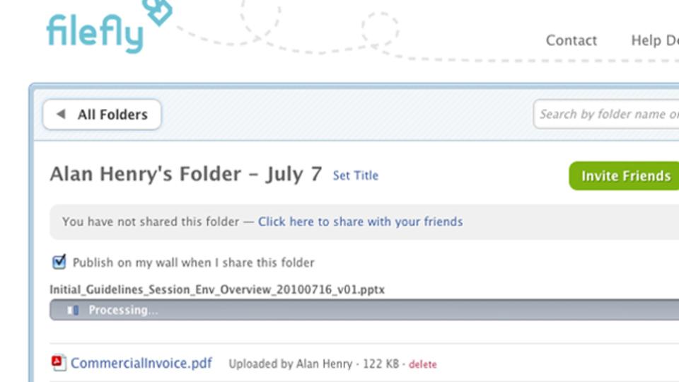 Facebookの友だちとファイル共有&編集できるサービス「FileFly」