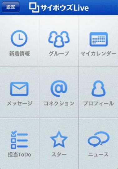 サイボウズLiveのiPhoneアプリを使ってみた