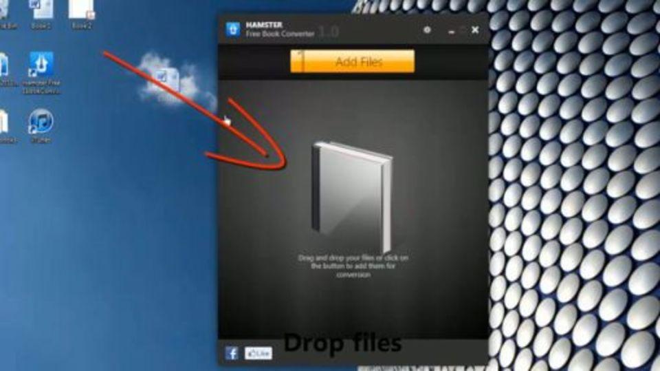 ドラッグ&ドロップで簡単にeBookのフォーマットを変換できる『Hamster Free eBook Converter』