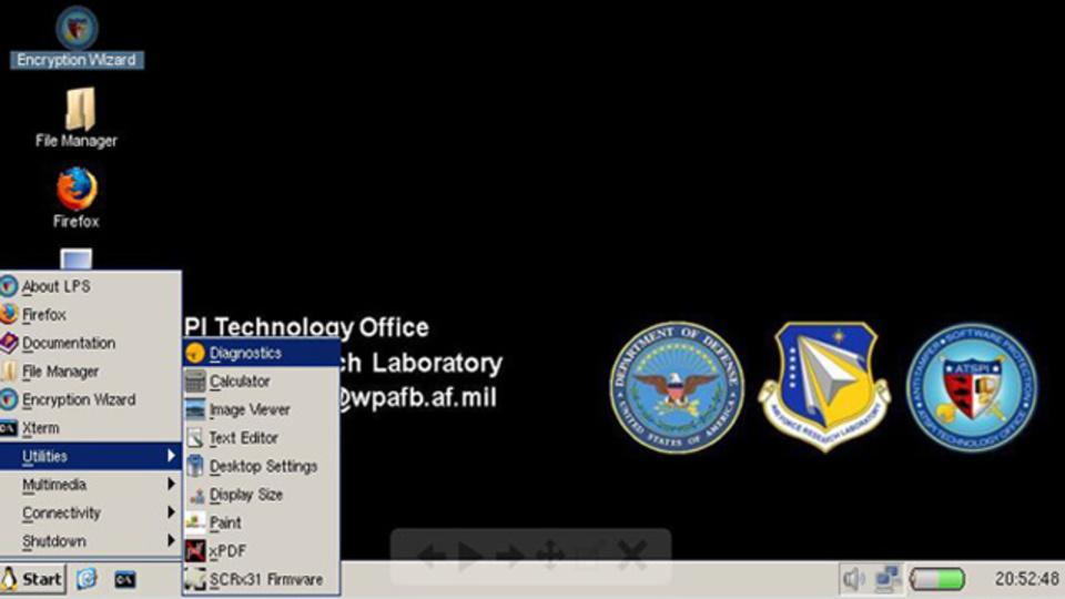 米国防総省によって開発されたポータブルLinuxディストロ『Lightweight Portable Security』