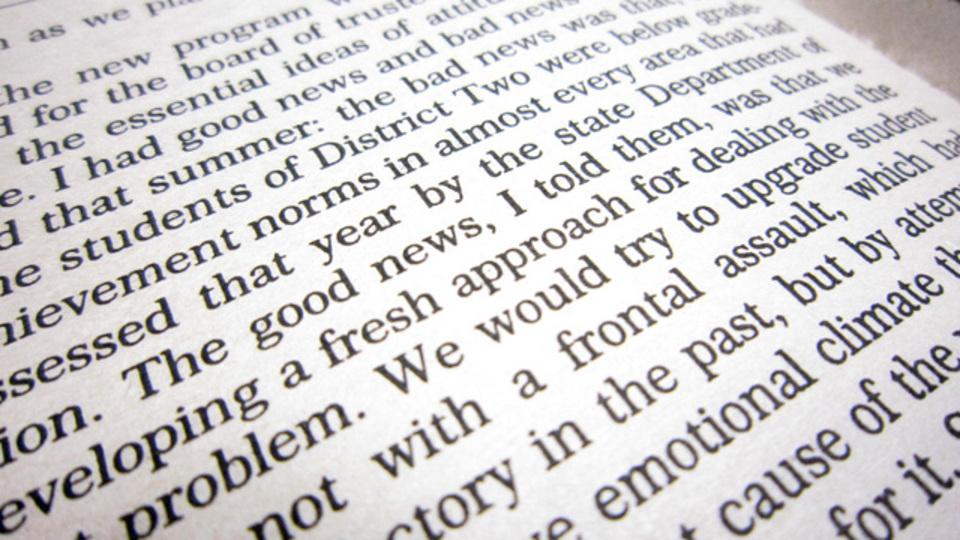 文章の概要をザックリとつかむ速読法「3番目の言葉の法則」
