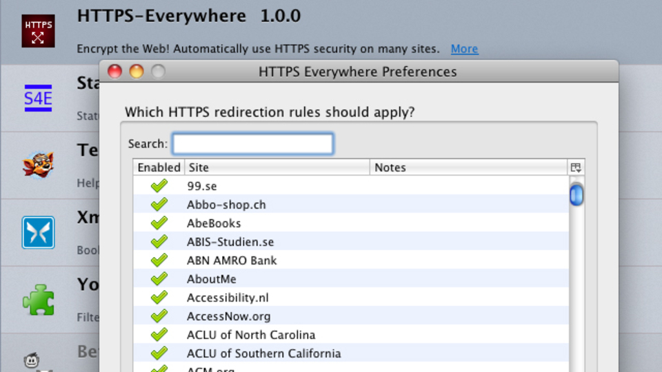 ブラウザを自動的にSSLに切り替えられるFIrefoxのアドオン『HTTPS everywhere』