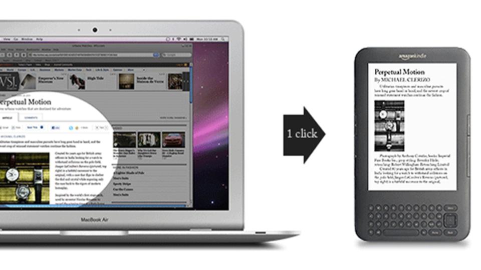 WebページをブックマークレットにしてKindleに送るWebアプリ「SENDtoREADER」
