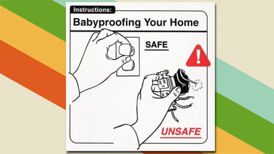 赤ちゃんにとって安全な部屋作りをするためのTips