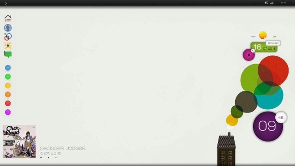 カラフルスモークデスクトップ~究極のデスクトップを求めて
