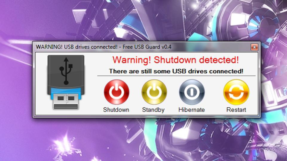 『USB Guard』はUSBメモリの抜き忘れを防止してくれる「転ばぬ先の杖」的ツール